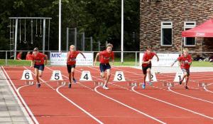 Jongens Junioren D op jacht naar persoonlijke records